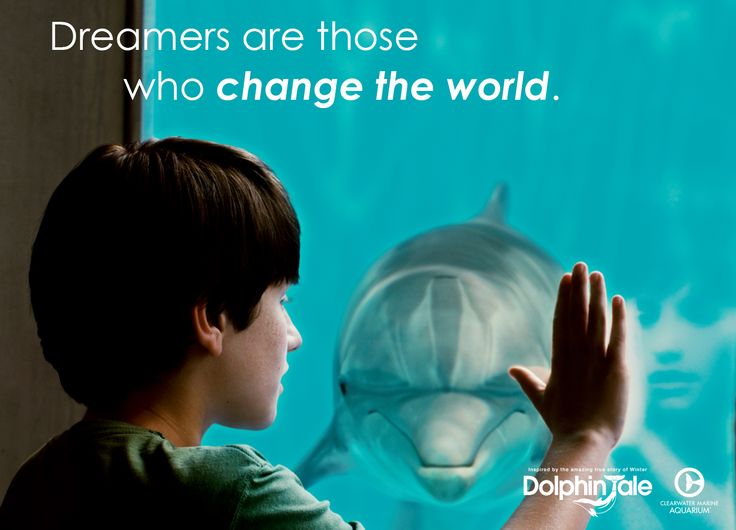 Dreamers are those who change the world.