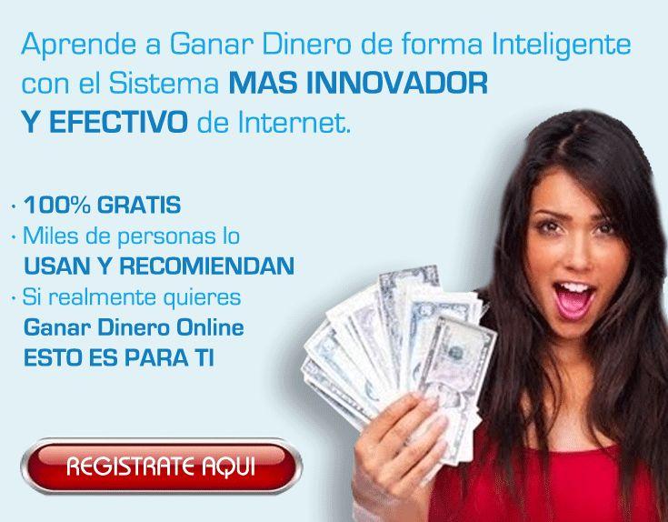 No pierdas más tiempo y comienza a ganar dinero ahora con el sistema que está revolucionando Internet... Regístrate gratis desde el siguiente enlace: http://gananciaz.com/ganardinero/cgordonh86