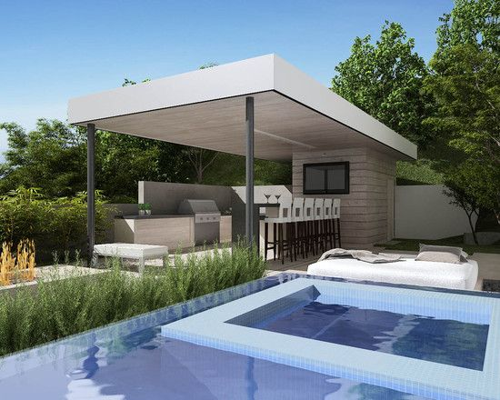 Modern Outdoor Kitchen Design, Pictures, Remodel, Decor and Ideas