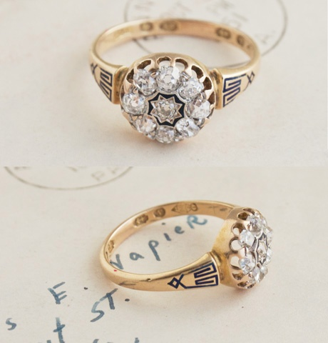 i want a vintage ring!