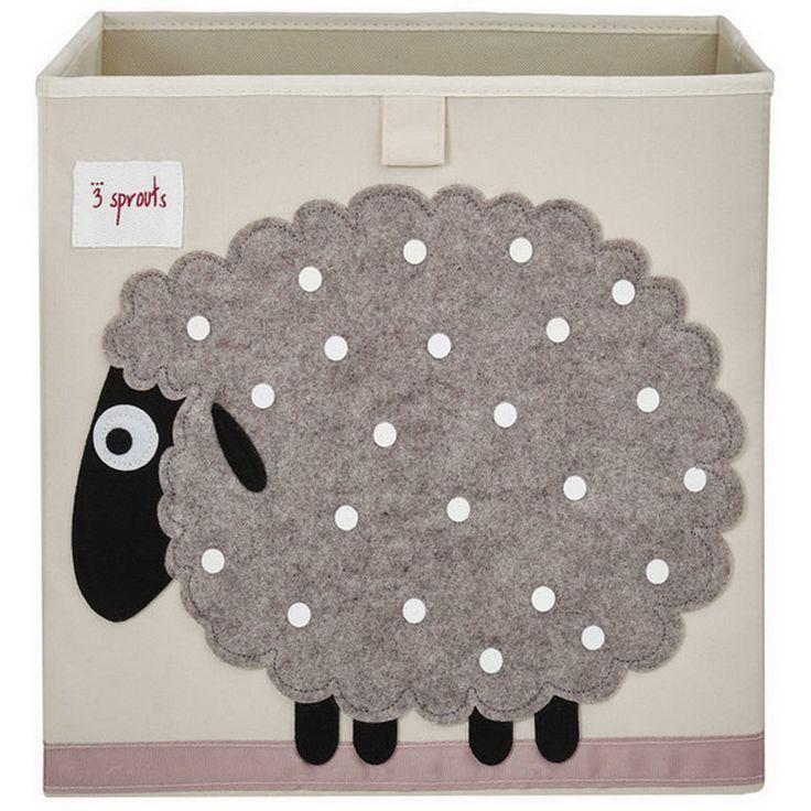 Милая овечка в детской никогда не будет лишней:) #3sprouts #abumba #дизайн #детская #интерьер