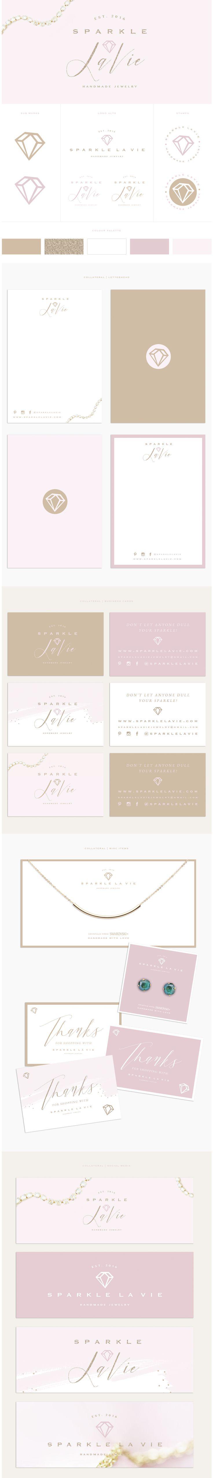 Brand Design for Sparkle La Vie by Brand Me Beautiful