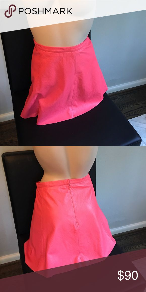 1000 ideas about pink leather skirt on