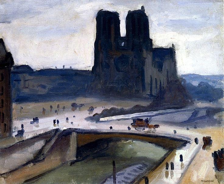 Notre-Dame de Paris Albert Marquet - circa 1908