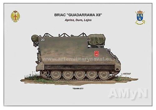 TOA M-577 de mando del #ejercito de #España. vehículo militar