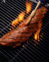 Slow Grilled Beef Ribs - Grilled Rib Recipe
