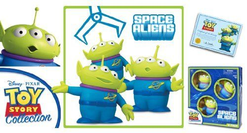disney toy story space aliens deluxe figure 3 pack giftset by thinkway toys disney. Black Bedroom Furniture Sets. Home Design Ideas