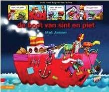 De boot van Sint en Piet Strip voor beginnende lezers. Het lettertype is goed leesbaar en de plaatjes helpen om de tekst beter te begrijpen. AVI M3