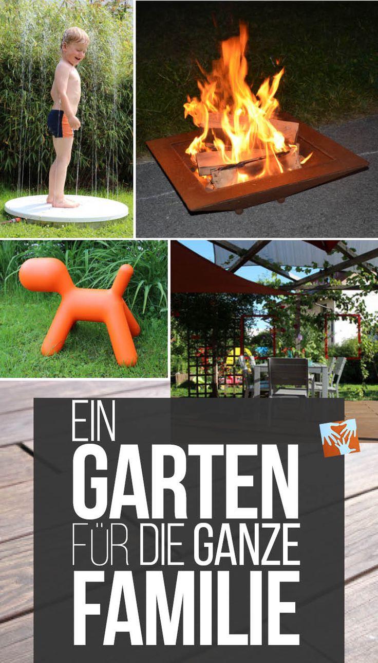 Die 25+ Besten Ideen Zu Familiengarten Auf Pinterest | Design ... Gartengestaltung Ideen Kinder Spielecke Freude