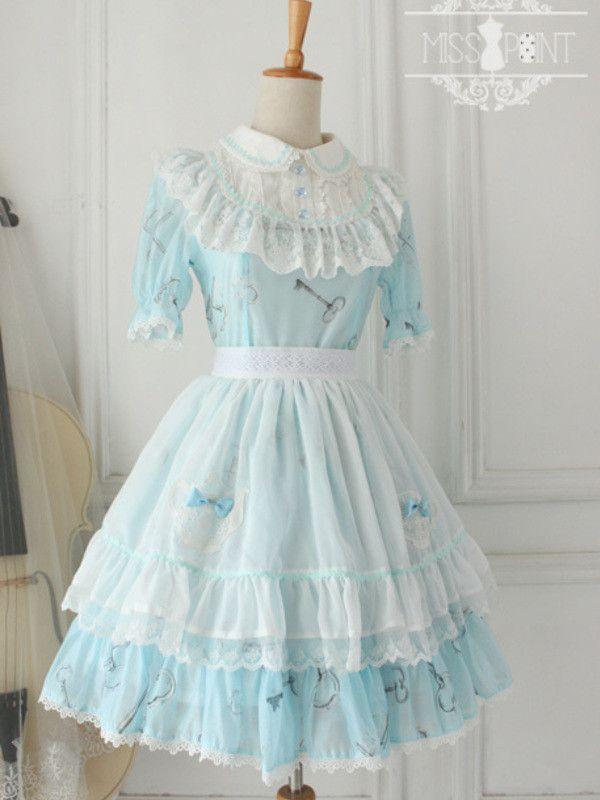 Alice in wonderland apron #asianicandy #aliceinwonderland #custommade