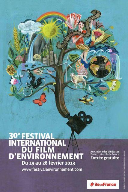 30e Festival International du Film d'Environnement (FIFE) du 19 au 26 février 2013  Le Festival International du Film d'Environnement, organisé depuis 2004 par la Région Île-de-France, dans le cadre de ses actions en faveur de l'écologie et du développement durable est un lieu de découvertes et d'échanges autour des problématiques environnementales et sociétales.  http://www.pariscotejardin.fr/2013/02/30e-festival-international-du-film-d-environnement-fife-du-19-au-26-fevrier-2013/