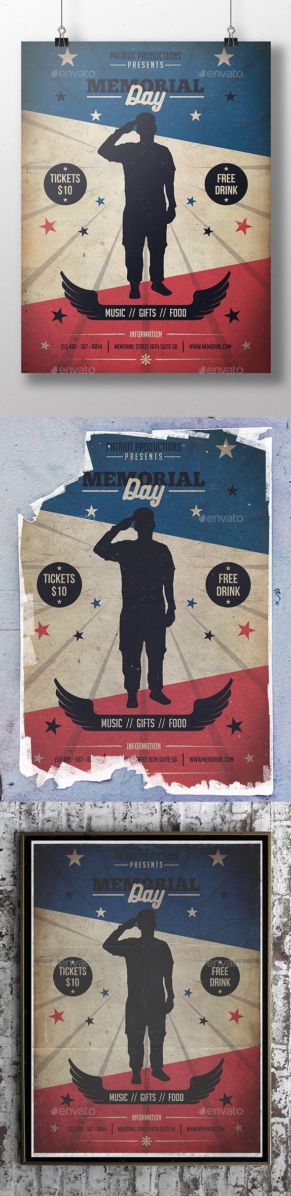 usaf memorial day poster