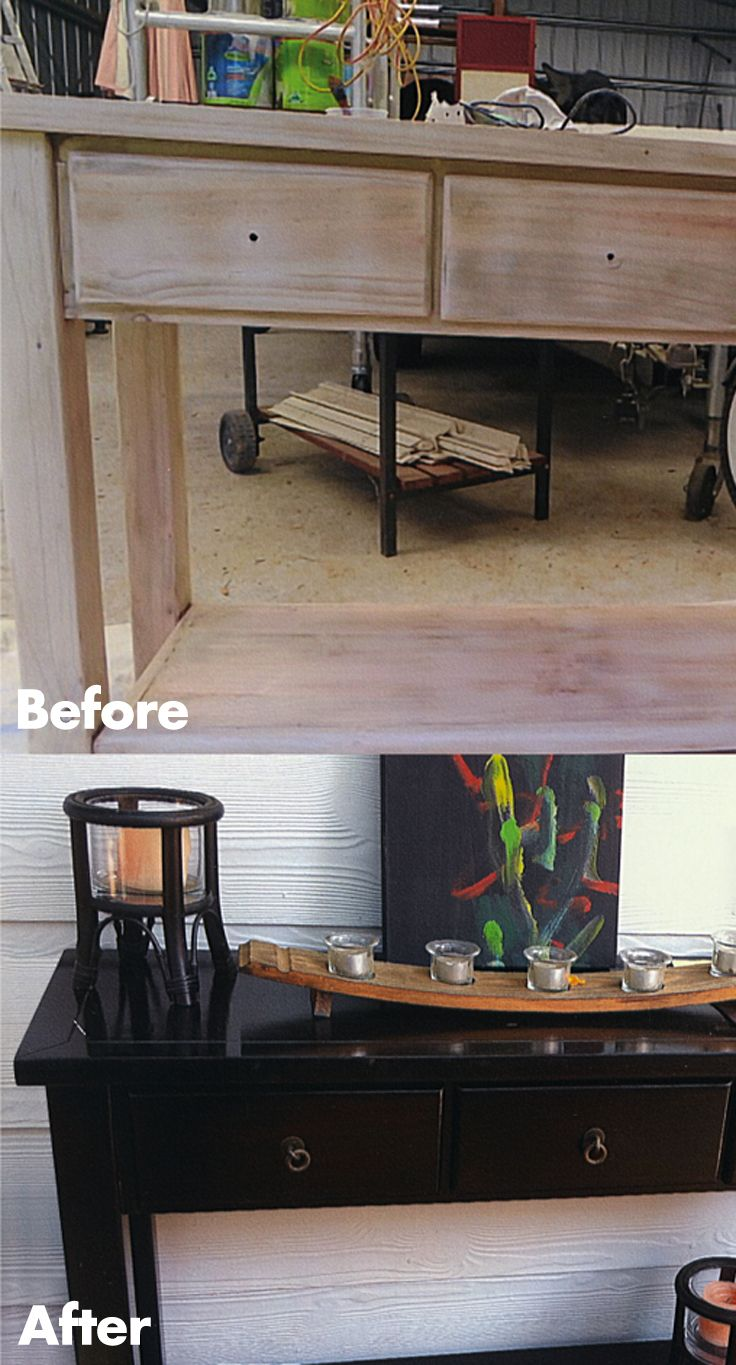 Give your old furniture a new lease of life. #Easter #DIY