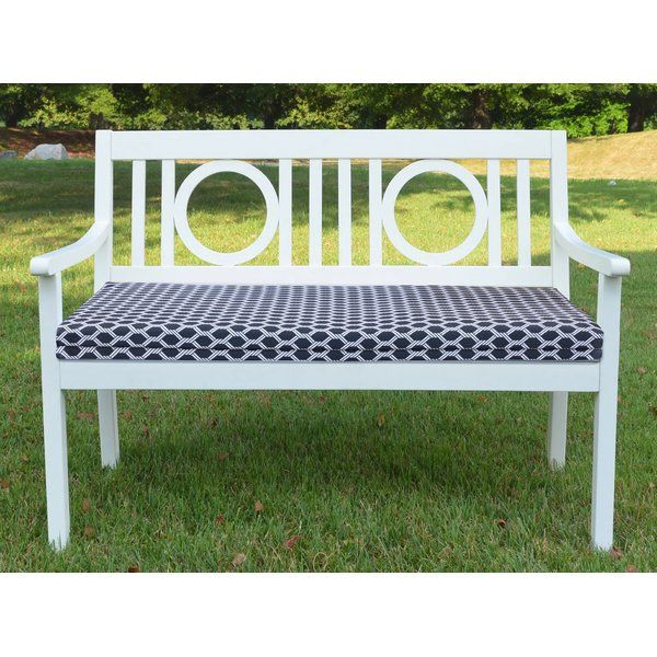 Best Comfortable Indoor Outdoor Bench Cushion By Breakwater Bay Furniture Patiofurniture Outdoor Bench Seat Cushions Outdoor Bench Seating Outdoor Bench