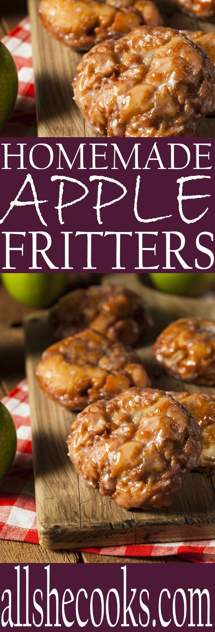 Enjoy homemade apple fritters for a sweet breakfast. These fried fritters are easy to make and delicious to eat. Make them for a special treat.