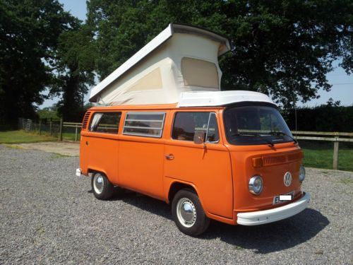 extremely rare right hand drive vw t2 late bay camper. Black Bedroom Furniture Sets. Home Design Ideas