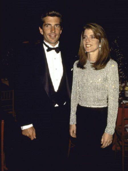741-John F. Kennedy Jr and sister Caroline Kennedy Schlossberg