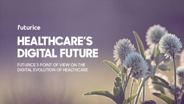How do we see the healthcare's digital future and its imp...