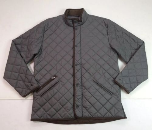 bbbeeca21a80 Peter-Millar-Men-Diamond-Quilted-Norfolk-Barn-Coat-Jacket -Hunting-Gentleman-L