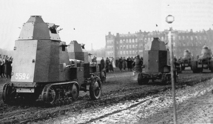 Wz.28 - Polish armoured halftrack car