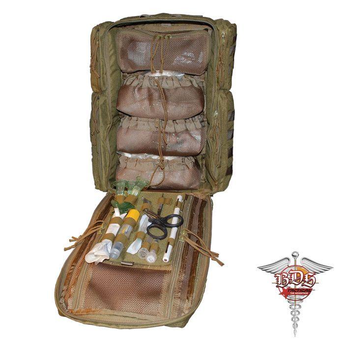 Bds Tactical Combat Trauma Medical Bag Tact Full Pinterest And