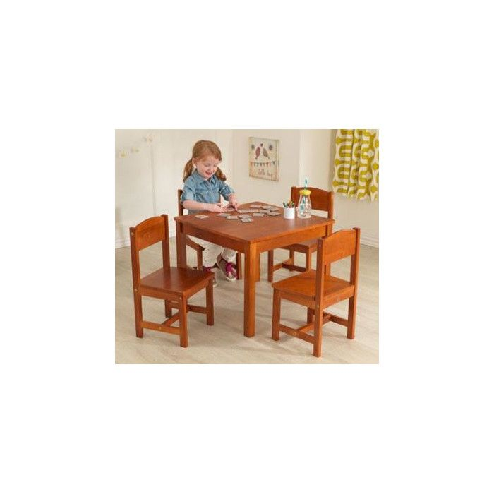 KidKraft Farmhouse Kids 5 Piece Table & Chair Set & Reviews | Wayfair