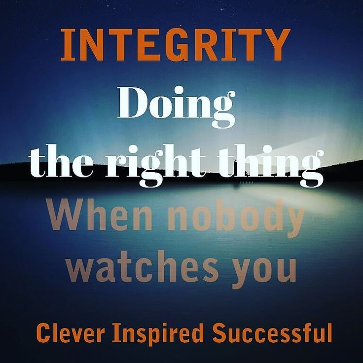 #Integrity is doing the right thing even when nobody #watches you . > > #Coherence Get updates and special offers on Instagram http://ift.tt/1W9wMhj Twitter http://twitter.com/Clever_Inspire Like and share our official Facebook page http://ift.tt/21xvvjy #moneyonline #comment #comments #commentbellow #cash #makemoney #makemoneyonline #makemoneyfromhome #makemoneyfast #makemoneynow #easymoney #easycash #getpaid #workfromhome #onlinemoney #workfromhomemom #workfromanywhere #workonline