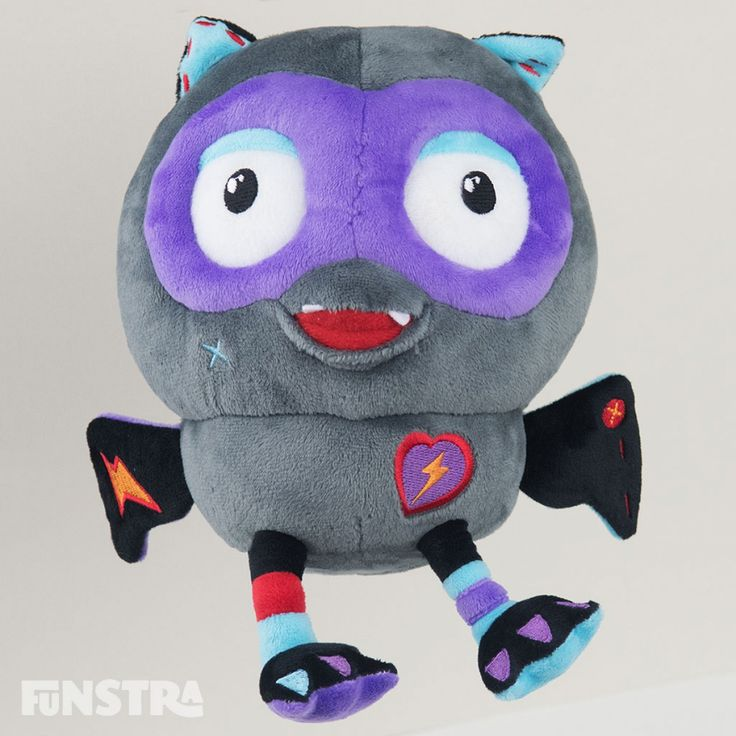 Giggle Fangs Beanie Soft Toy from Hoot Hoot Go