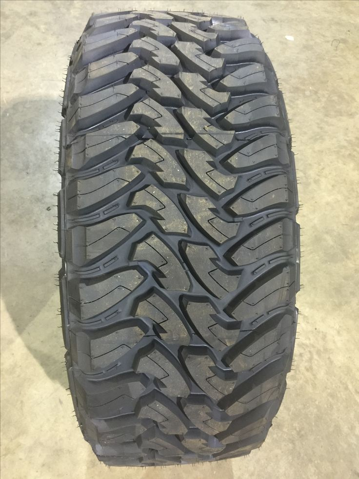 Toyo Open Country M/T. Our tires...awesome for off roading!