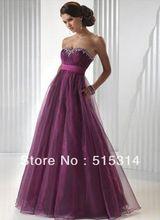 Op maat gemaakte nieuwe mode 2014 een- line sweetheart vloer lengte chiffon formele avondjurken hoge kwaliteit ha1(China (Mainland))