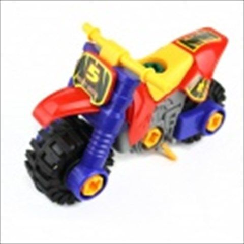 Children's Puzzle Hybrid Motorcycle - Black + Blue $12.09