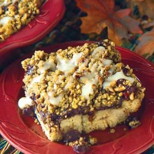 Blueberry Crumble Cake Recipe from Taste of Home