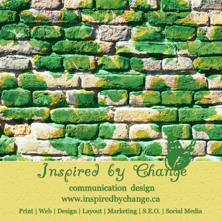 INSPIRED BY CHANGE COMMUNICATION DESIGN  Print | Web | Design | Layout | Marketing | S.E.O. | Social Media  Call: 403-276-6906 (leave message) http://inspiredbychange.ca/wordpress/