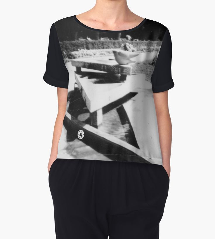 """""""The Fountain"""" Chiffon top by Fluxionist on Redbubble"""