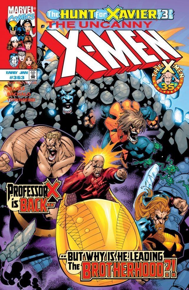 Uncanny X Men 1963 2011 363 Komiksy