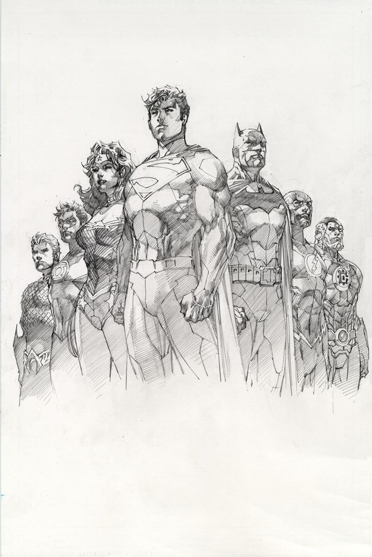 Justice League//Covers and Splashes/Jim Lee/ Comic Art Community GALLERY OF COMIC ART