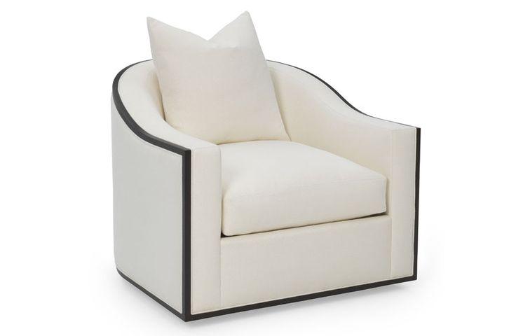 Caiden Wood Trim Chair Amp Swivel Chair Furniture Chair