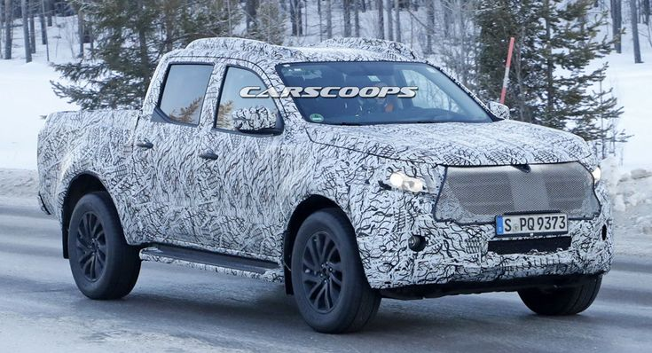 The Mercedes X-Class Looks Almost Ready To Take On The VW Amarok