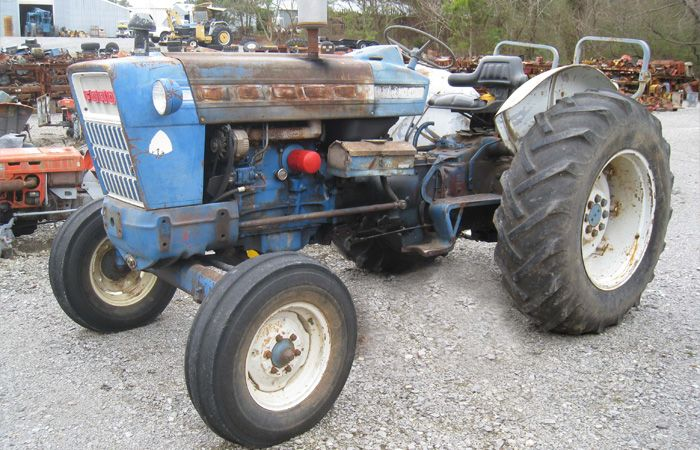 Ford Backhoe Salvage Parts : Images about used ford tractor parts
