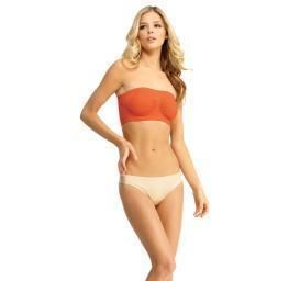 No wire, soft support bandeau bra High-grade shapewear fabric prevents show through No closure for easier wear Tagless shapewear for extra comfort Product Fabric: 90% Nylon, 10% Spandex Say... More Details