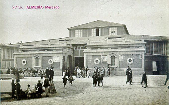 Mercado Central de Abastos de Almería (Arquitecto Trinidad Cuartara Cassinello)
