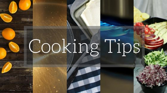 10 Random Cooking Tips to uncomplicate cooking... that's perfect for anyone who's not used to making their own food