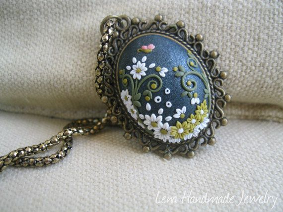 Little Butterfly Pendatet by Lena Handmade by StoriesMadeByHands, $63.00