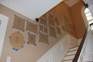 step-by-step guide to making a gallery wall. Using an adjustable picture hanger will allow you to slide the frames exactly where you want them after they're on the wall. AMAZINGLY COOL