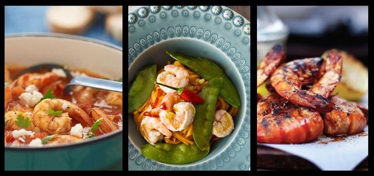 Na noite de passagem de ano esqueça o simples camarão cozido e opte por lhe acrescentar cor e sabor. Faça, inclusivamente, destas propostas com marisco o prato principal
