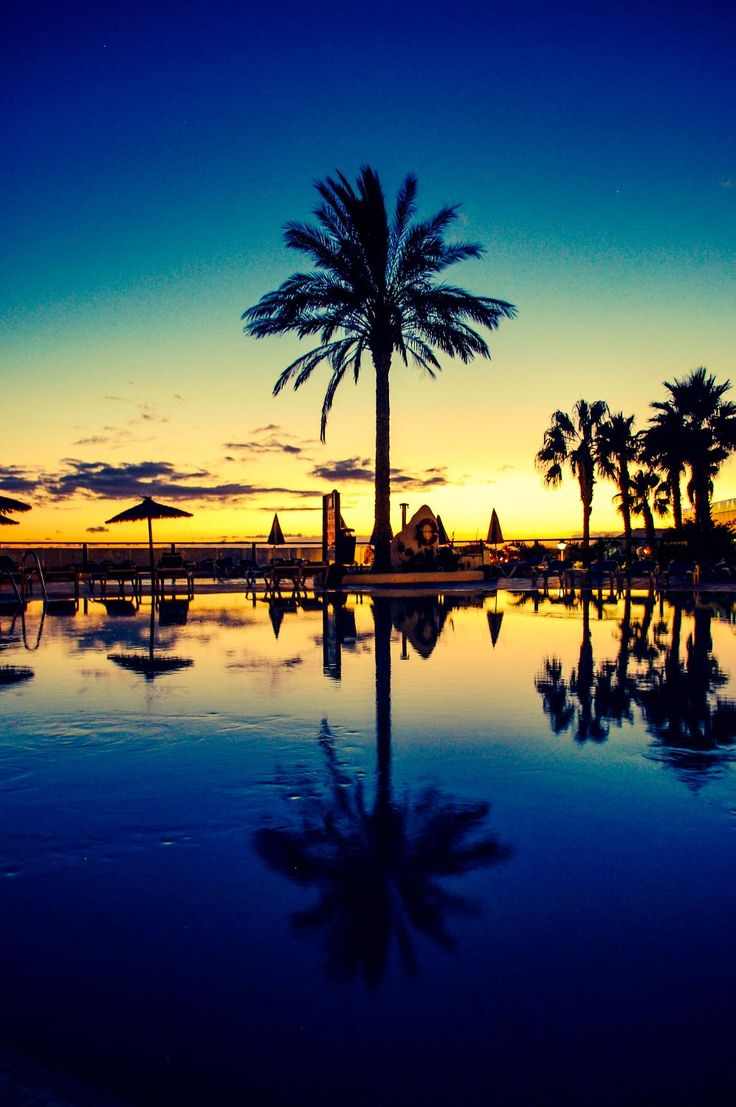Reflections, Playa Blanca, Spain Copyright: Sally Lucas