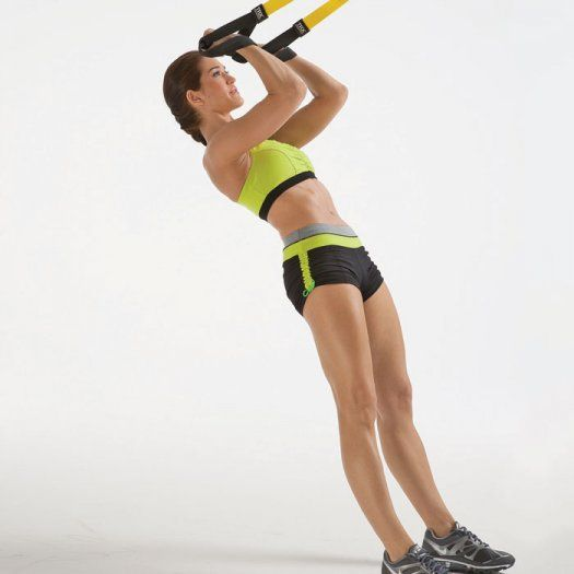 TRX Workout Plan: 7 Suspension Training Exercises to Tone Your Whole Body   Shape Magazine