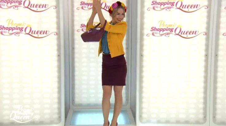 Bildergebnis für shopping queen Julia Dietze