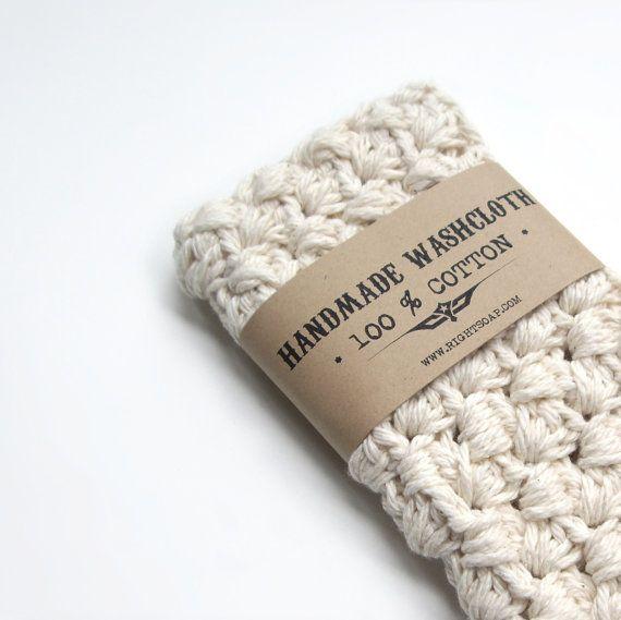 WASHCLOTH - 100% COTTON, handmade washcloth, wash cloth, crochet washcloth on Etsy, $10.88 AUD