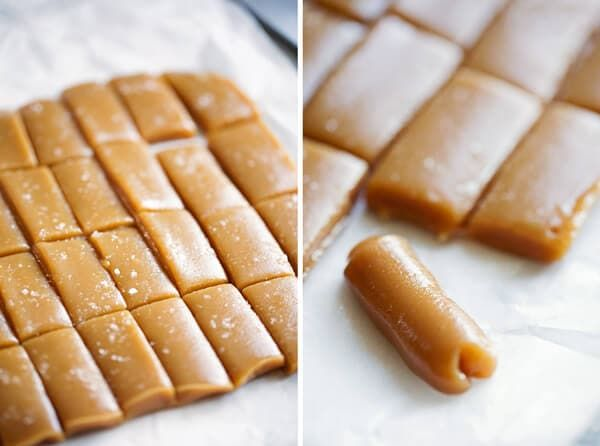 Easy 6 Minute Microwave Caramels Oh Sweet Basil Recipe Caramel Recipes Microwave Caramels Six Minute Caramels